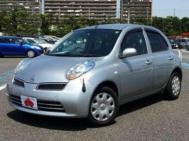 2010 AT Nissan March DBA-AK12