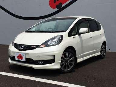 2012 CVT Honda Fit DBA-GE8