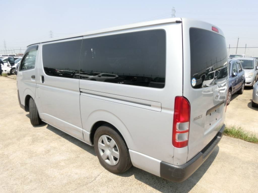 Used 2011 AT Toyota Hiace Van KDH201V Image[1]