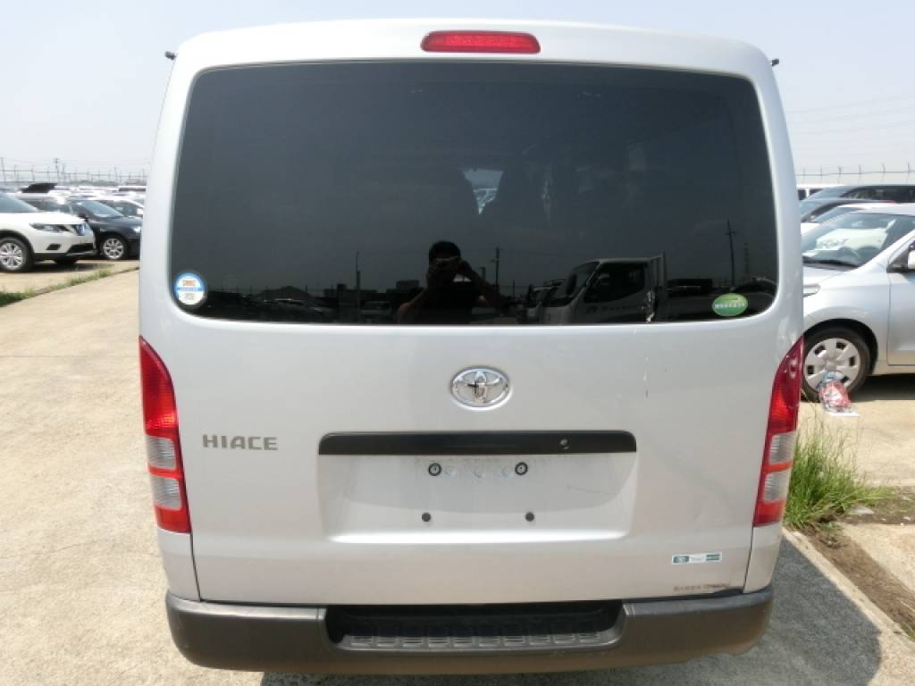 Used 2011 AT Toyota Hiace Van KDH201V Image[2]