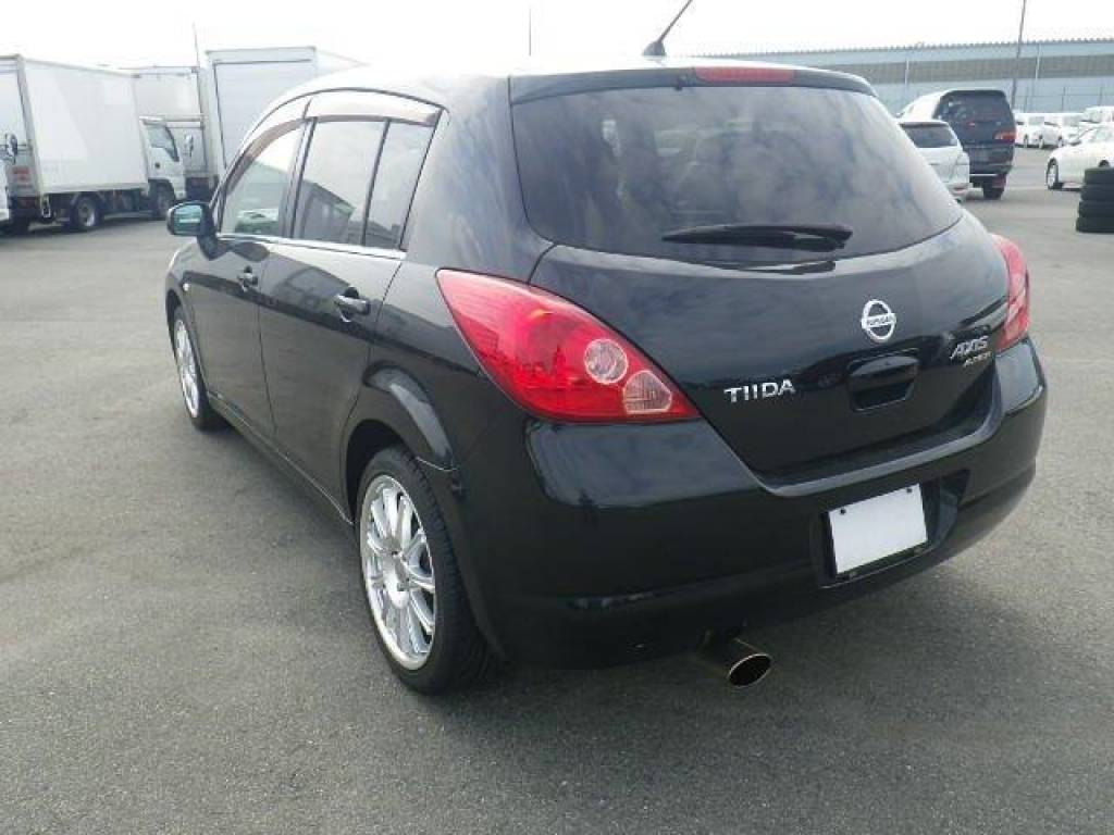 Used 2007 AT Nissan Tiida C11 Image[4]