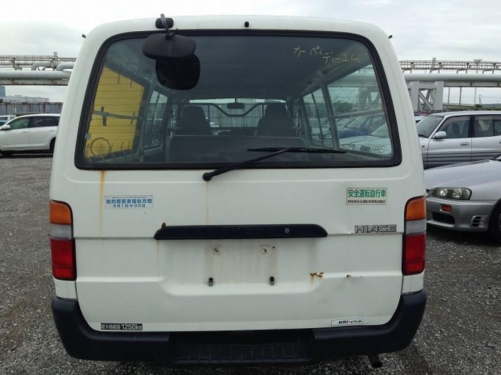Used 1998 MT Toyota Hiace Van RZH112V Image[5]