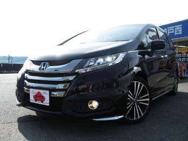 2015 CVT Honda Odyssey DBA-RC1