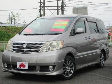 2004 AT Toyota Alphard G CBA-ANH10W