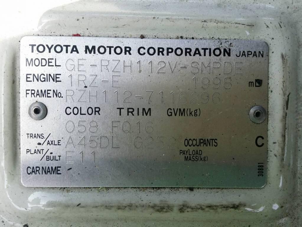 Used 2003 AT Toyota Regiusace Van RZH112V Image[30]