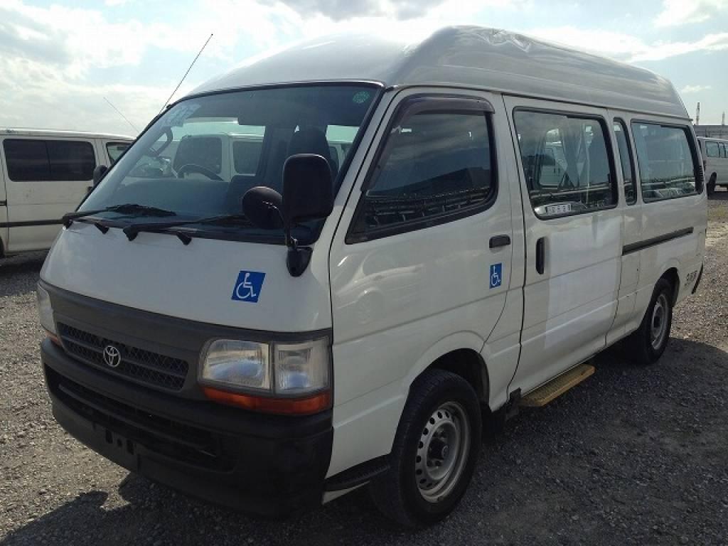 Used 2002 AT Toyota Hiace Van RZH125B