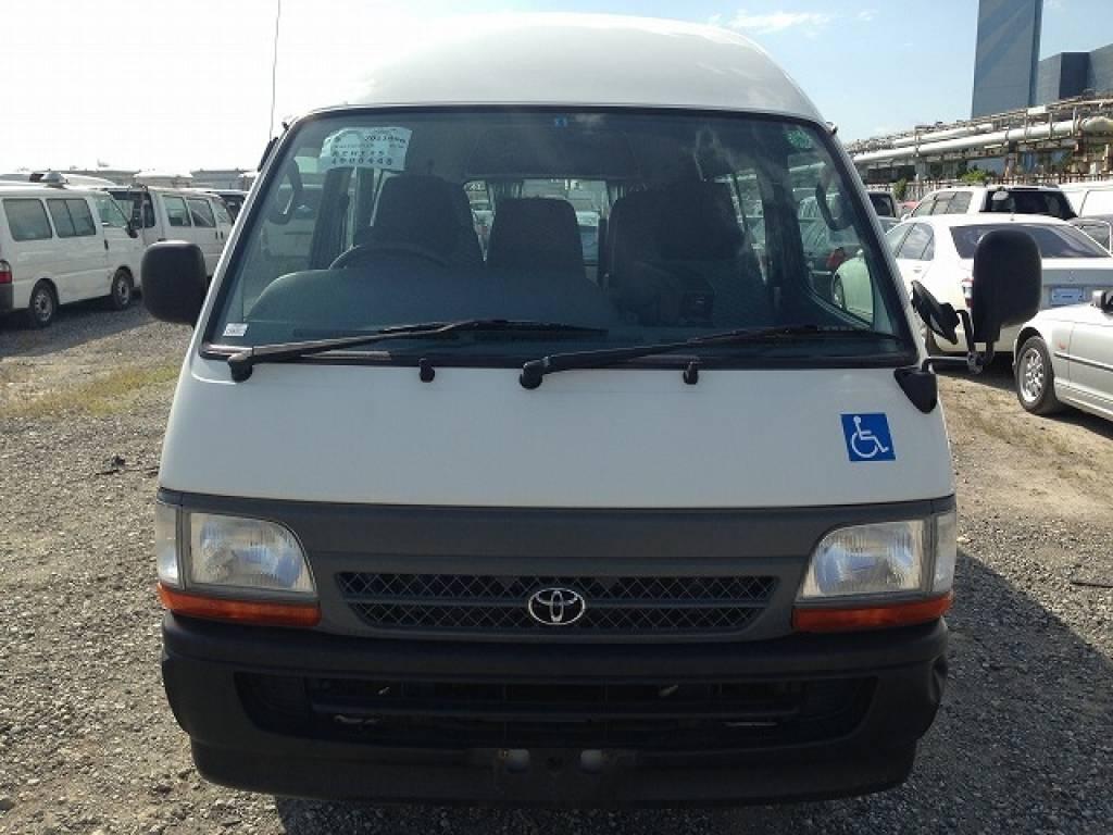 Used 2002 AT Toyota Hiace Van RZH125B Image[2]