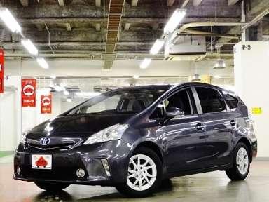 2012 CVT Toyota Prius alpha DAA-ZVW41W