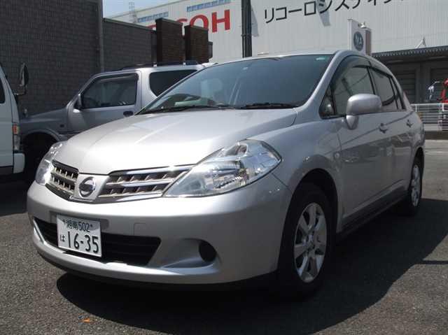 2010 at nissan tiida latio dba sc11 for sale carpaydiem rh carused jp Nissan Versa Nissan Tiida Sedan