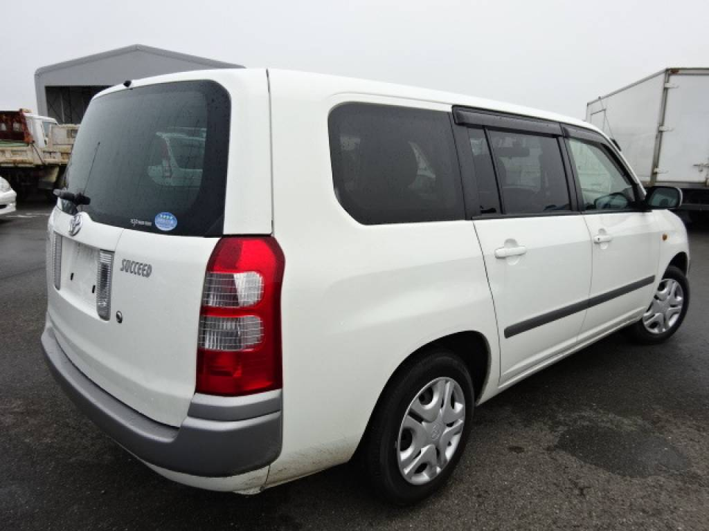 Used 2012 AT Toyota Succeed Wagon NCP58G Image[4]