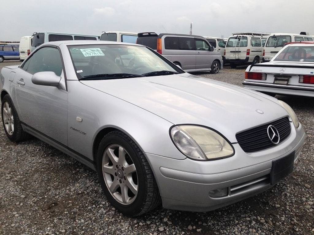 Used 1999 AT Mercedes Benz SLK Class 170447