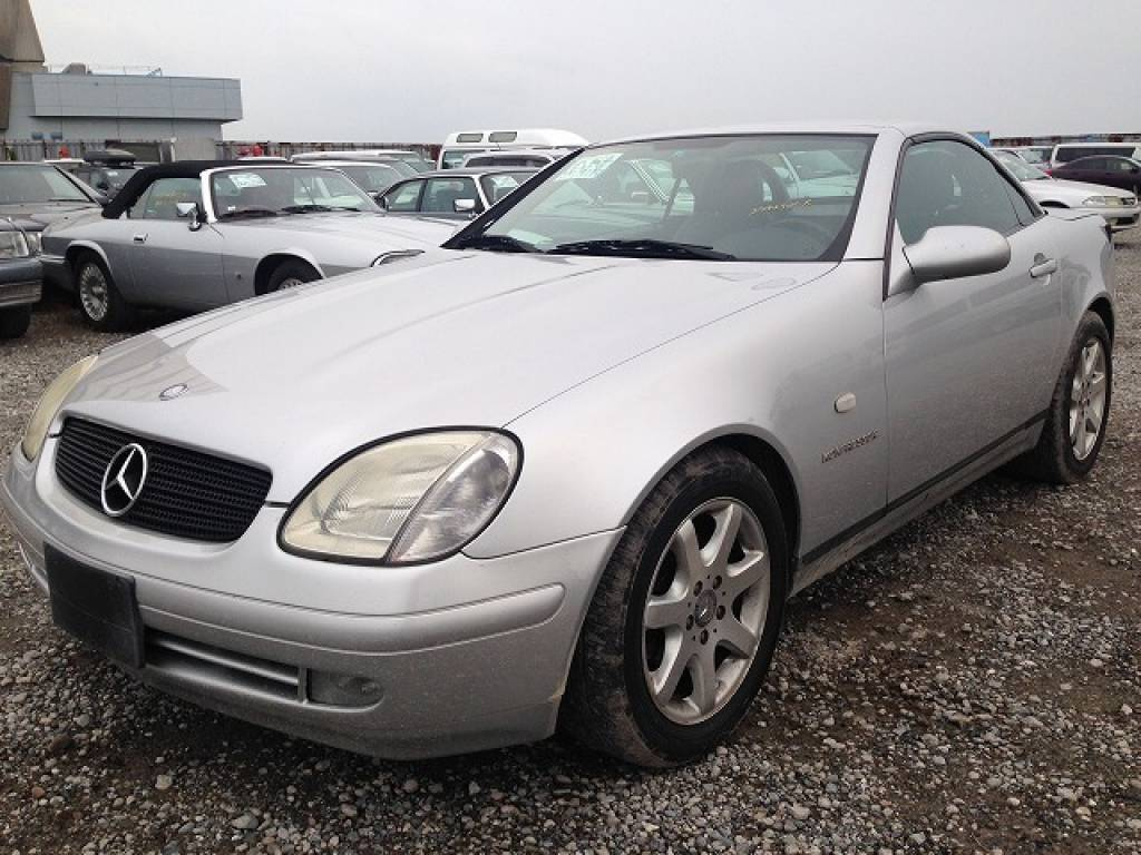 Used 1999 AT Mercedes Benz SLK Class 170447 Image[2]