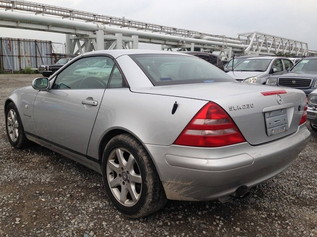 Used 1999 AT Mercedes Benz SLK Class 170447 Image[3]