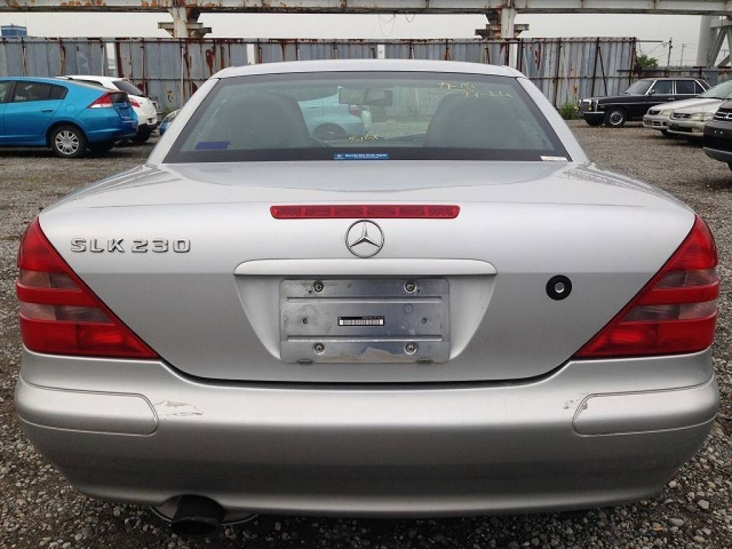 Used 1999 AT Mercedes Benz SLK Class 170447 Image[4]