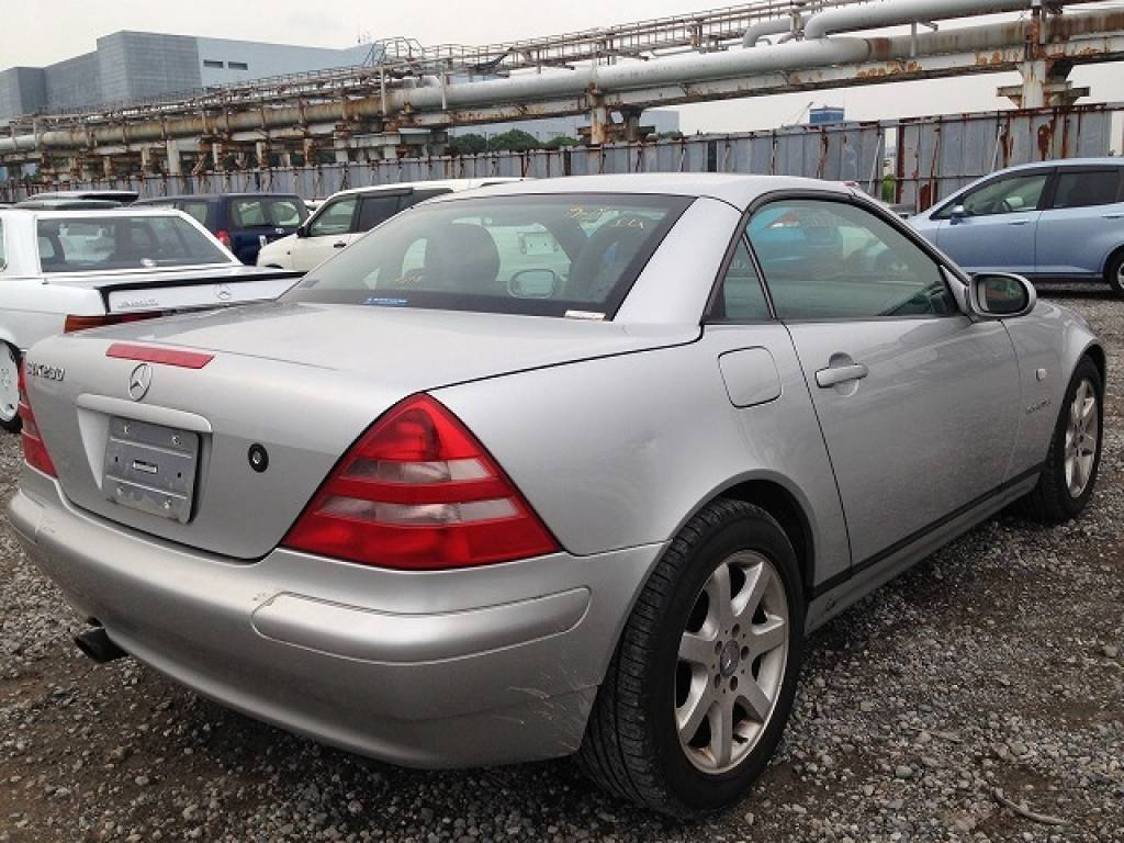 Used 1999 AT Mercedes Benz SLK Class 170447 Image[5]