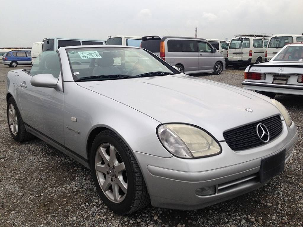 Used 1999 AT Mercedes Benz SLK Class 170447 Image[6]