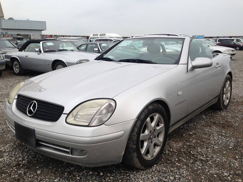 Used 1999 AT Mercedes Benz SLK Class 170447 Image[7]