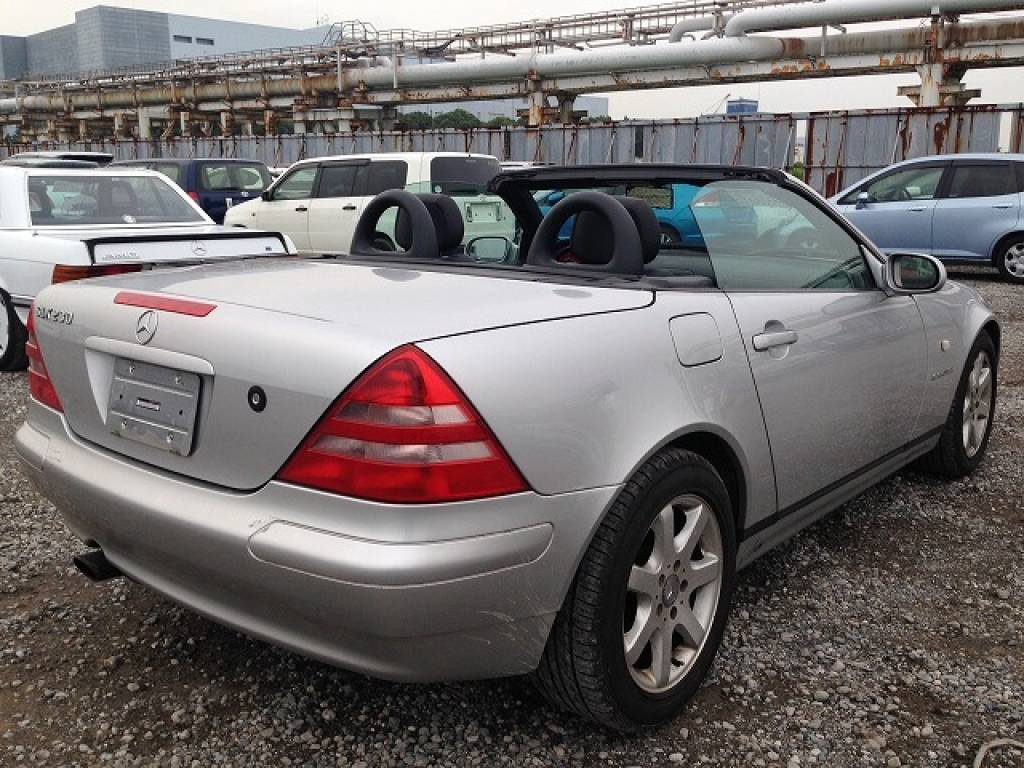 Used 1999 AT Mercedes Benz SLK Class 170447 Image[8]