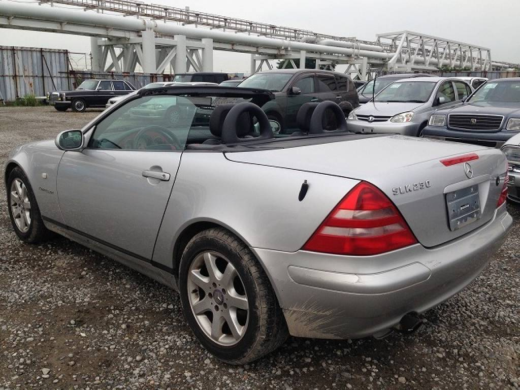 Used 1999 AT Mercedes Benz SLK Class 170447 Image[9]