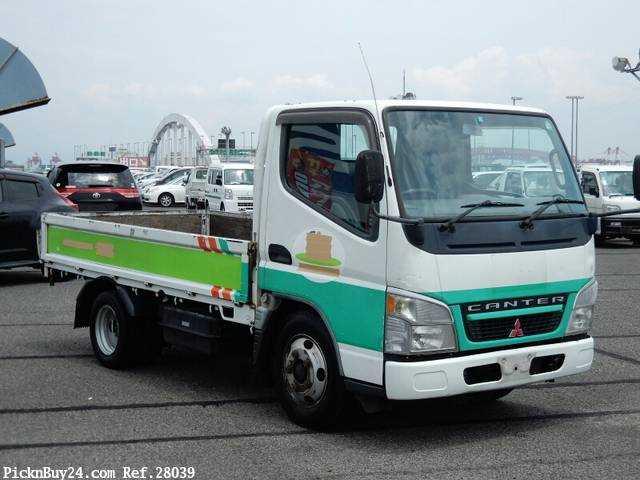 Used 2004 MT Mitsubishi Canter PA-FE70DB
