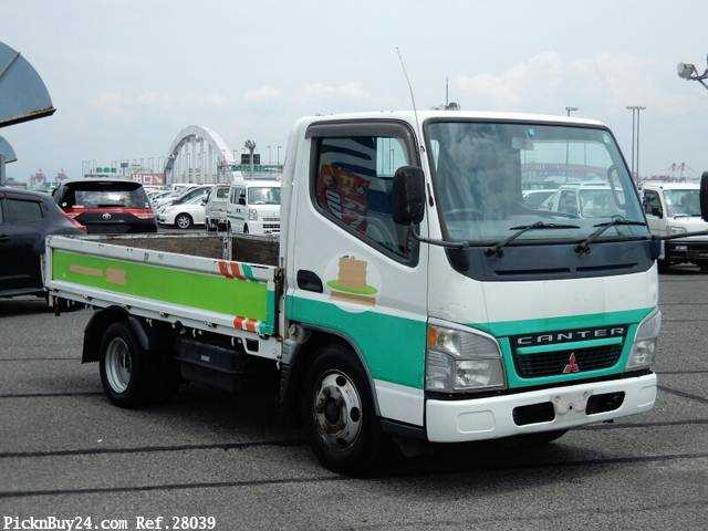 Used 2004 MT Mitsubishi Canter PA-FE70DB