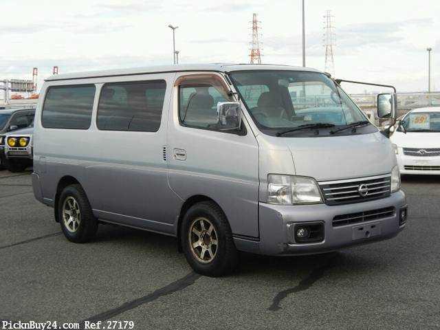 Used 2001 AT Nissan Caravan Van GE-VPE25