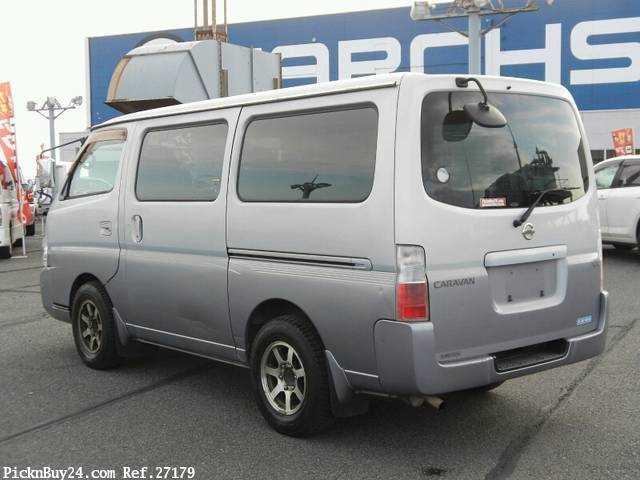 Used 2001 AT Nissan Caravan Van GE-VPE25 Image[1]