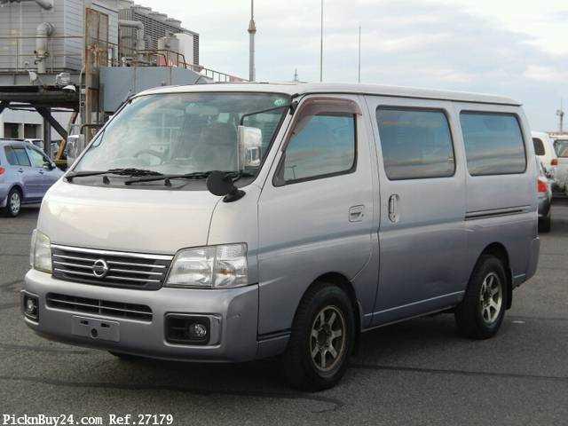 Used 2001 AT Nissan Caravan Van GE-VPE25 Image[2]