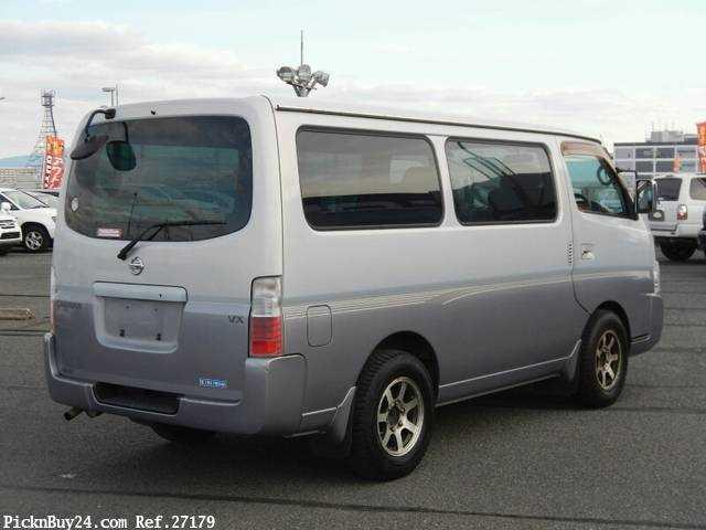 Used 2001 AT Nissan Caravan Van GE-VPE25 Image[3]