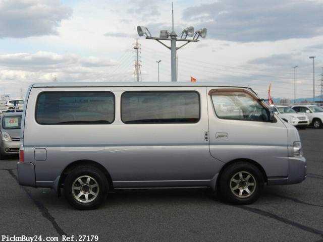Used 2001 AT Nissan Caravan Van GE-VPE25 Image[4]