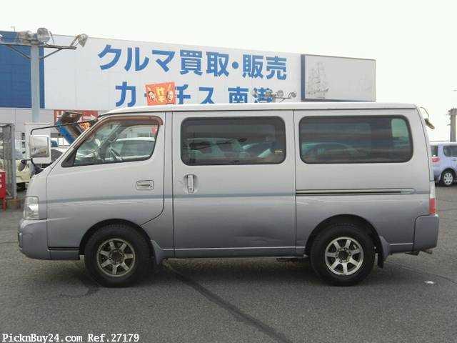 Used 2001 AT Nissan Caravan Van GE-VPE25 Image[5]