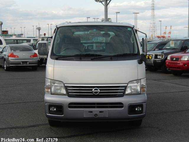 Used 2001 AT Nissan Caravan Van GE-VPE25 Image[6]