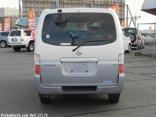 Used 2001 AT Nissan Caravan Van GE-VPE25 Image[7]