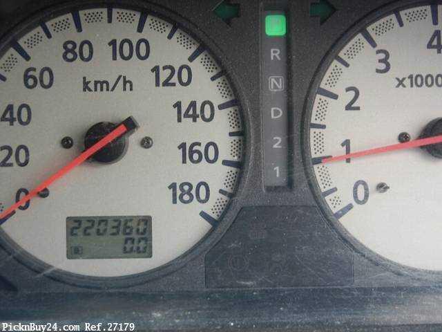 Used 2001 AT Nissan Caravan Van GE-VPE25 Image[21]