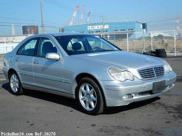Used 2001 AT Mercedes Benz C-Class GF-203061