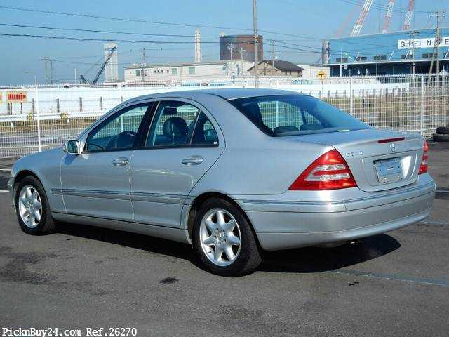 Used 2001 AT Mercedes Benz C-Class GF-203061 Image[1]