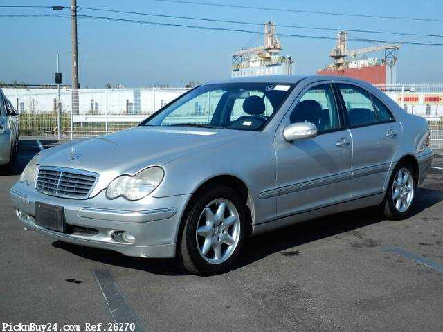 Used 2001 AT Mercedes Benz C-Class GF-203061 Image[2]