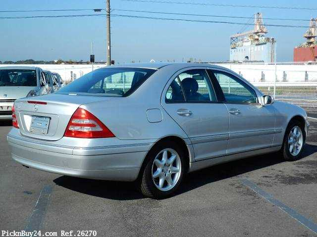 Used 2001 AT Mercedes Benz C-Class GF-203061 Image[3]