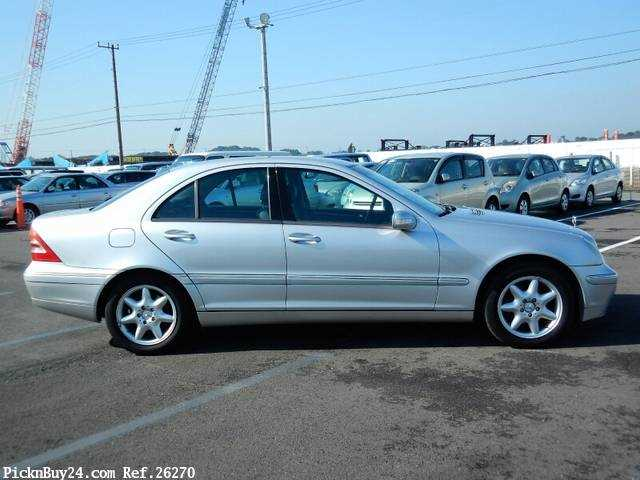 Used 2001 AT Mercedes Benz C-Class GF-203061 Image[4]