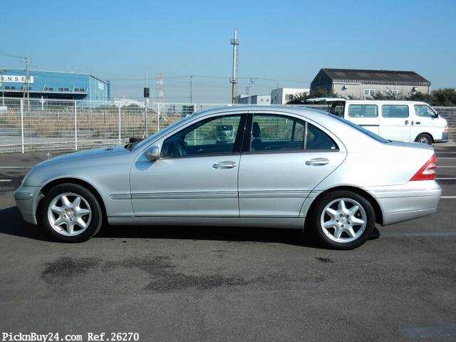 Used 2001 AT Mercedes Benz C-Class GF-203061 Image[5]