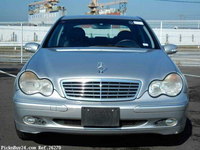 Used 2001 AT Mercedes Benz C-Class GF-203061 Image[6]