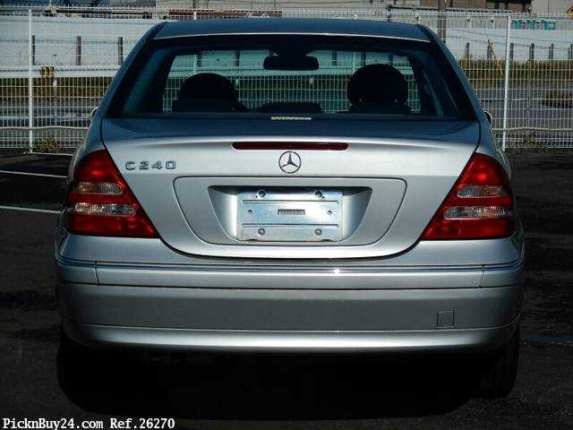 Used 2001 AT Mercedes Benz C-Class GF-203061 Image[7]