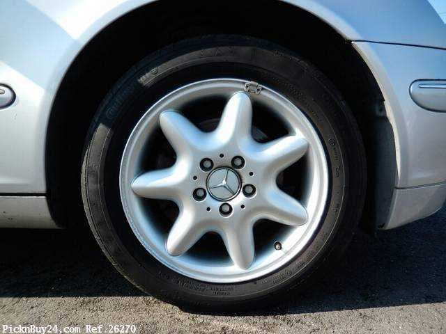 Used 2001 AT Mercedes Benz C-Class GF-203061 Image[8]