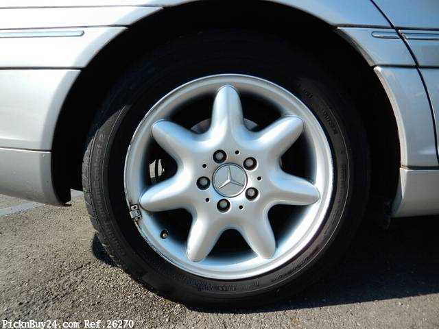 Used 2001 AT Mercedes Benz C-Class GF-203061 Image[9]
