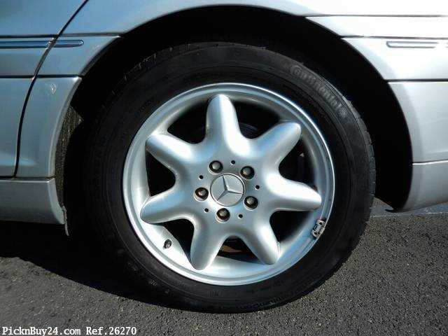 Used 2001 AT Mercedes Benz C-Class GF-203061 Image[10]