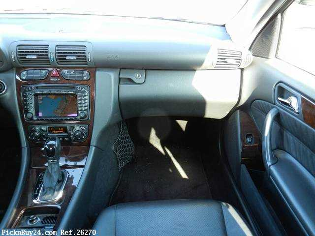 Used 2001 AT Mercedes Benz C-Class GF-203061 Image[17]