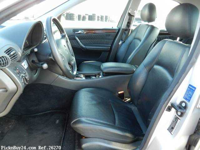 Used 2001 AT Mercedes Benz C-Class GF-203061 Image[18]
