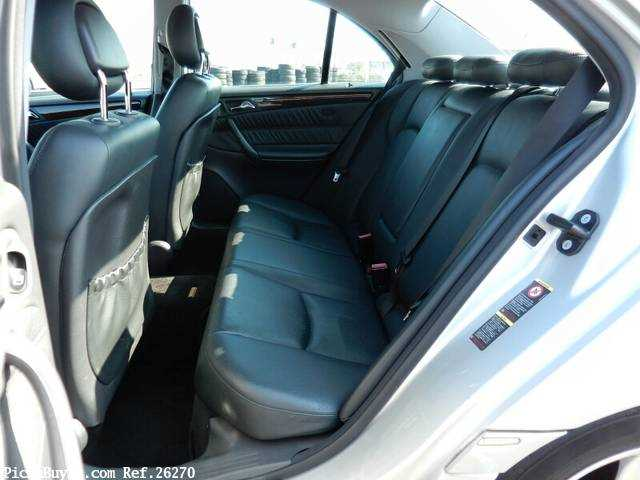 Used 2001 AT Mercedes Benz C-Class GF-203061 Image[19]