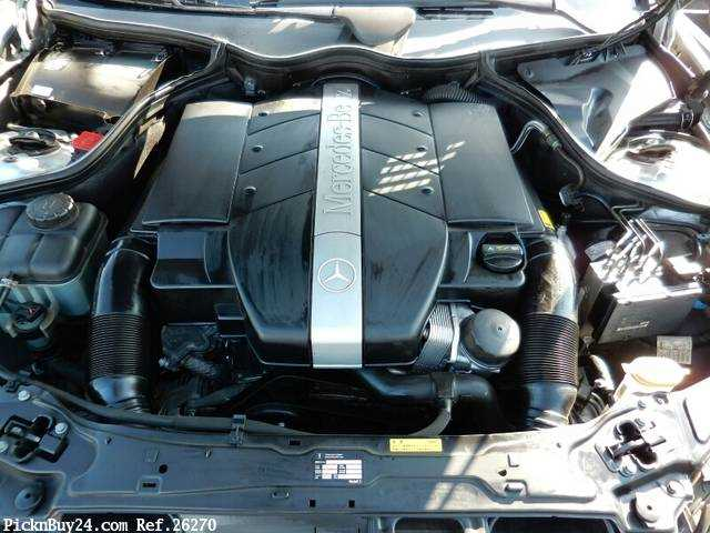 Used 2001 AT Mercedes Benz C-Class GF-203061 Image[22]