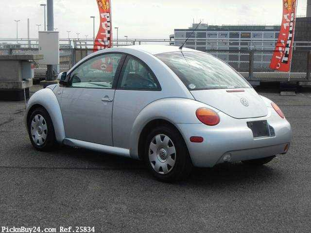 Used 2002 AT Volkswagen New Beetle GH-9CAZJ Image[1]